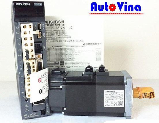 Đại lý bán, phân phối sản phẩm Mitsubishi AC Servo 200W MR-J3-20A và Motor HF-KP23