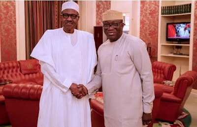 President Buhari Reacts To Fayemi's Victory In Ekiti Election