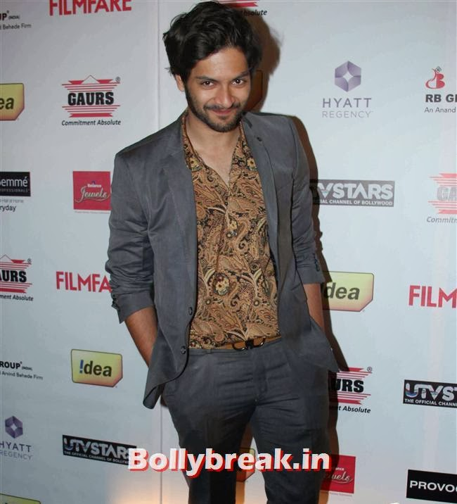 Ali Fazal, Bollywood Actors at 59th Filmfare Pre Awards Party