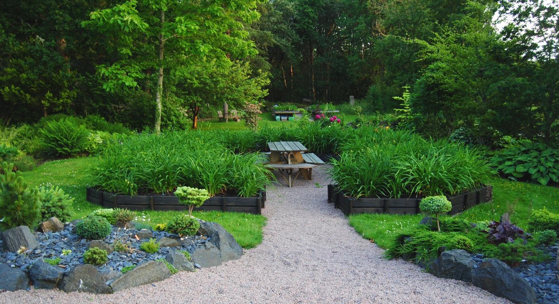 Olssons trÄdgÅrd / garden in sweden