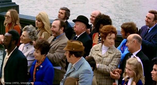 Alfred Hitchcock cameo Frenzy Frenético