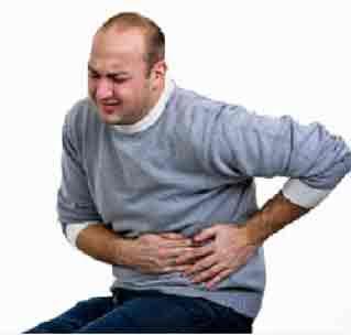 Sakit perut melilit kembung muntah dan mual