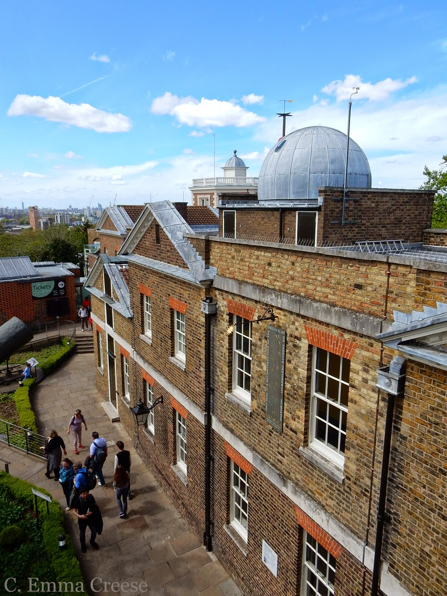 Greenwich Observatory Meridian Line London
