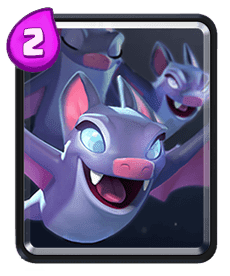 Carta dos Morcegos do Clash Royale