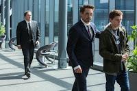 Tom Holland, Robert Downey Jr. and Jon Favreau in Spider-Man: Homecoming (42)