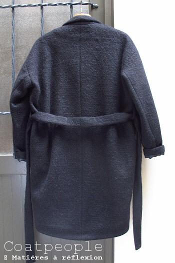 Manteau noir Coatpeople