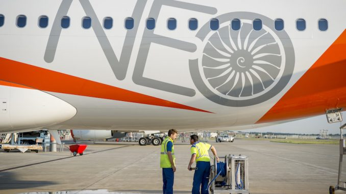EasyJet :: Just Delivered A321neo to Serve Greece