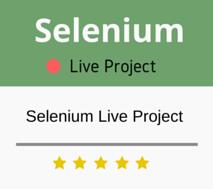 Selenium Live Project Training