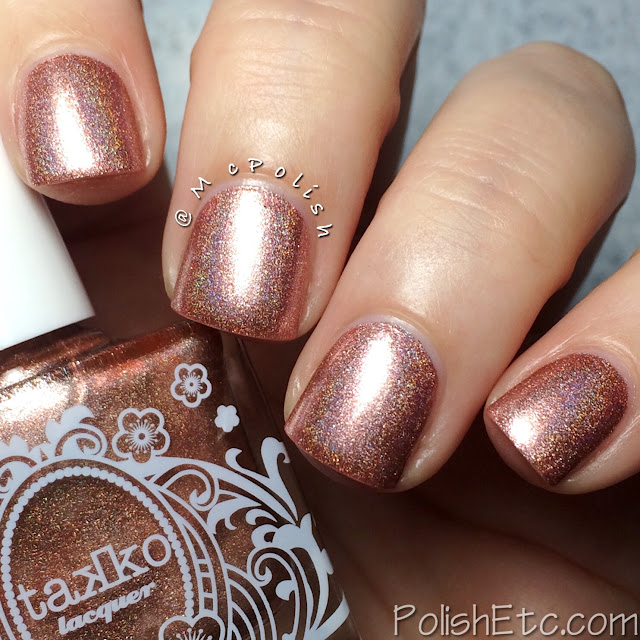 Takko Lacquer - Diamonds and Tulle - McPolish