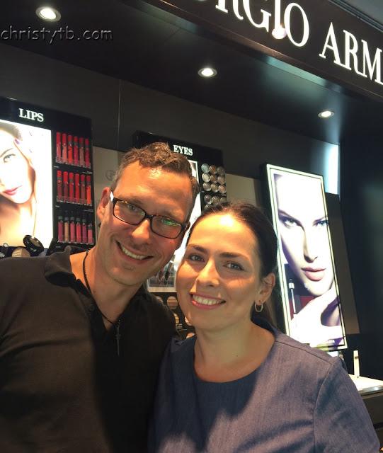 Как я на макияж в корнер Giorgio Armani сходила и что принесла