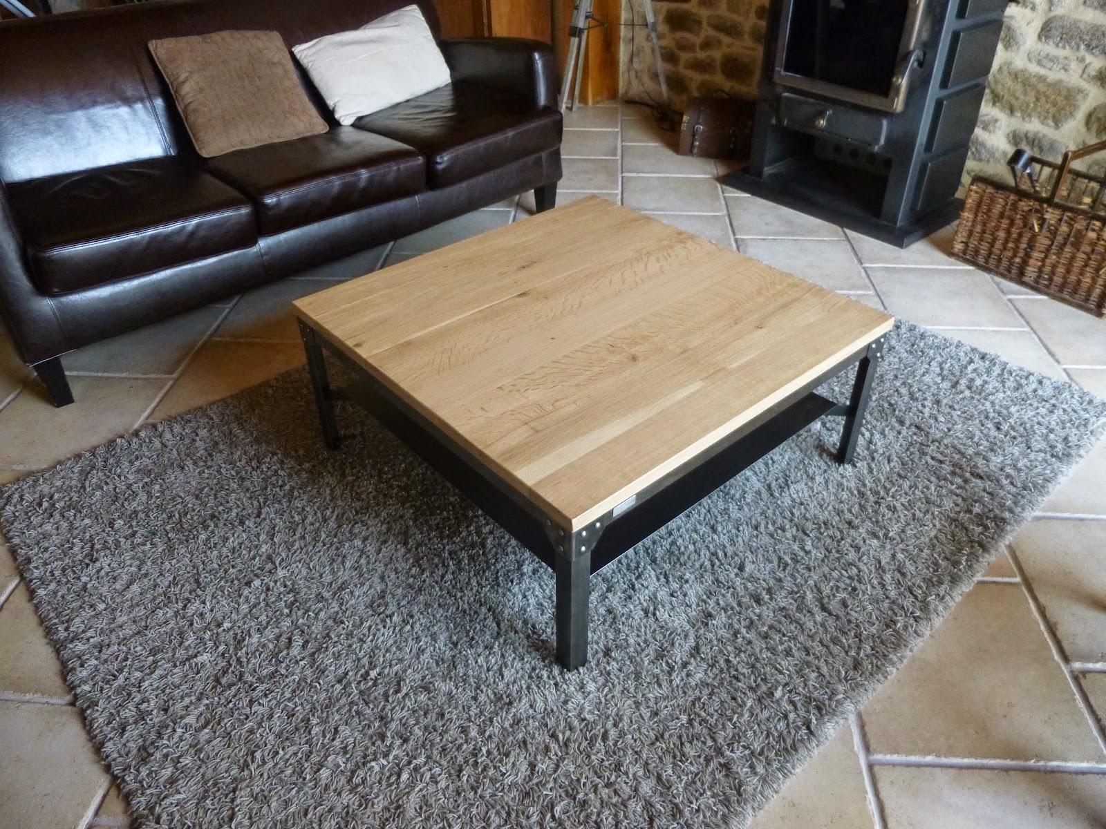 c factory creation table basse. Black Bedroom Furniture Sets. Home Design Ideas
