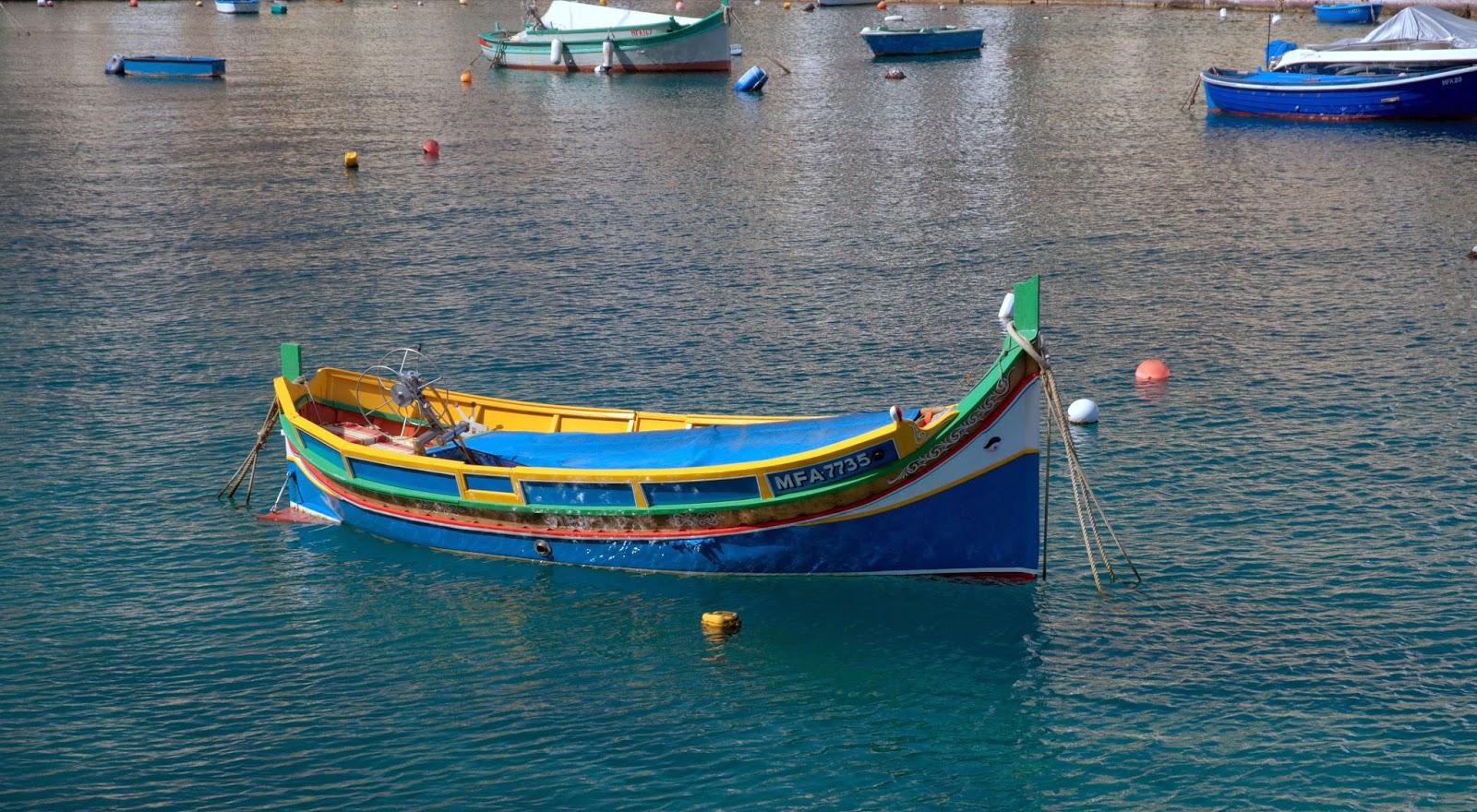 kolorowe łódki na Malcie gdzie zobaczyć?