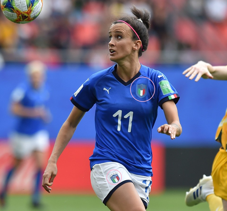 sale retailer 89d28 23b5b Italy Women's Team Got Rid Of Stars On Shirts Only - Footy ...