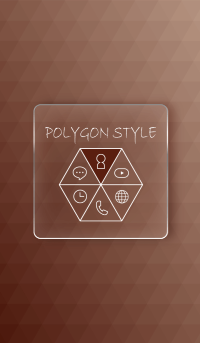 POLYGON STYLE - BROWN -