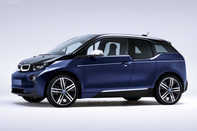 BMW i3 MR PORTER: Limitierte Blue Design Editon