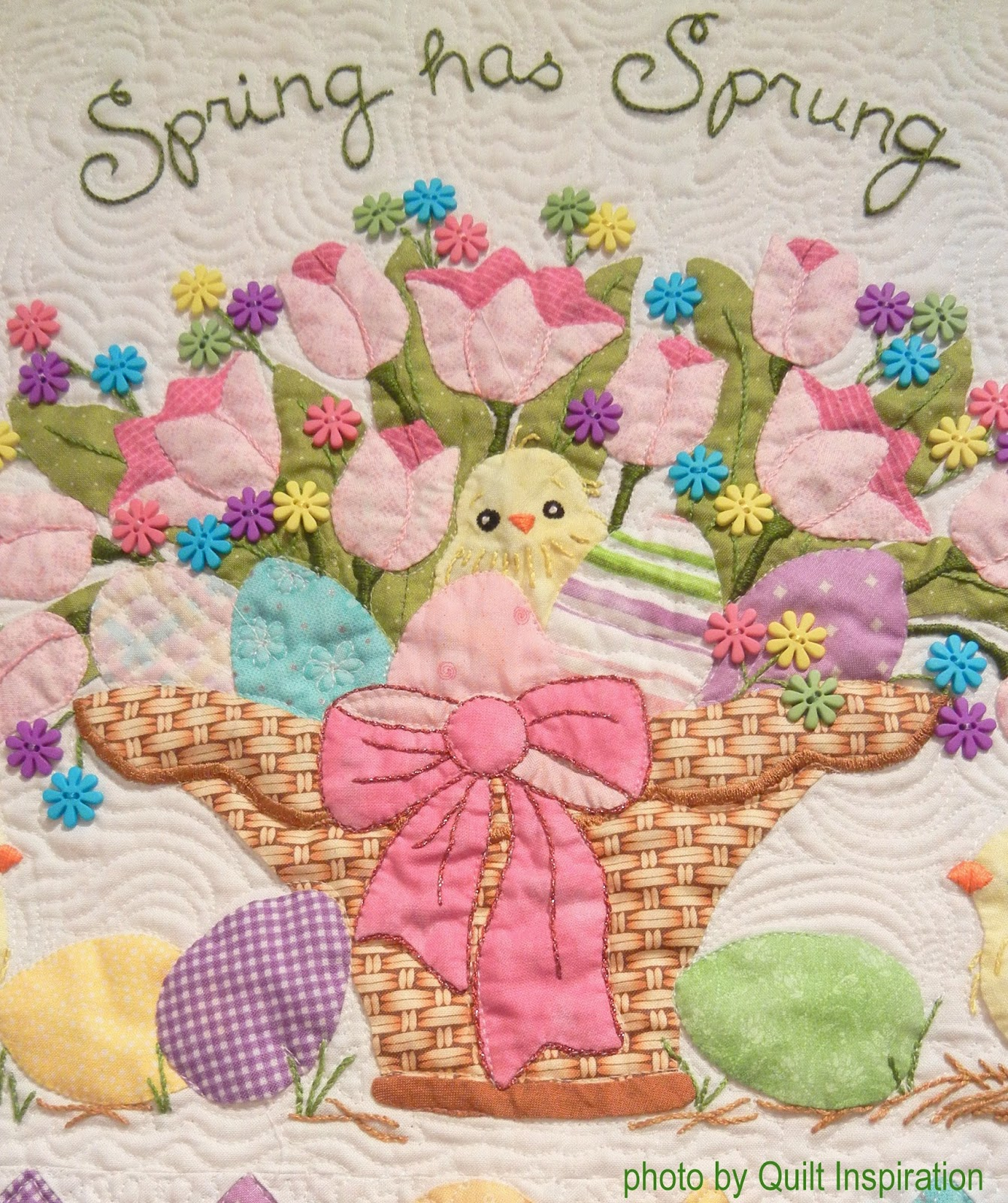 Quilt Inspiration: Spring and Easter Quilts!