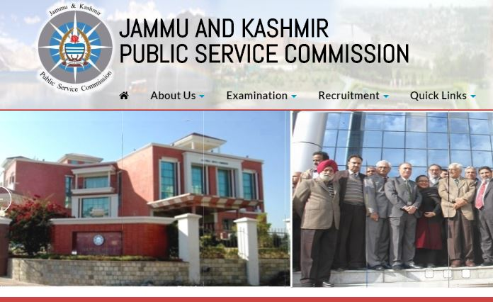 Jammu and Kashmir Public Service Commission Recruitment 2019