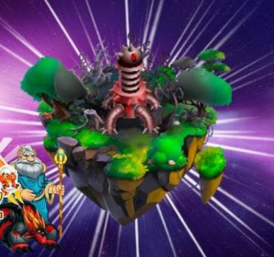A Ilha da Corrida do Dragoniverso foi revelada!