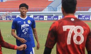 Persib Seleksi Pemain Baru Ahmad Rajendra