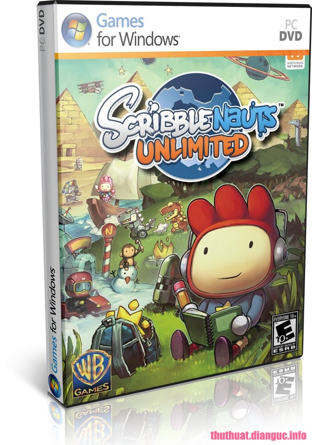 Download Game Scribblenauts Unlimited – SKIDROW Fshare