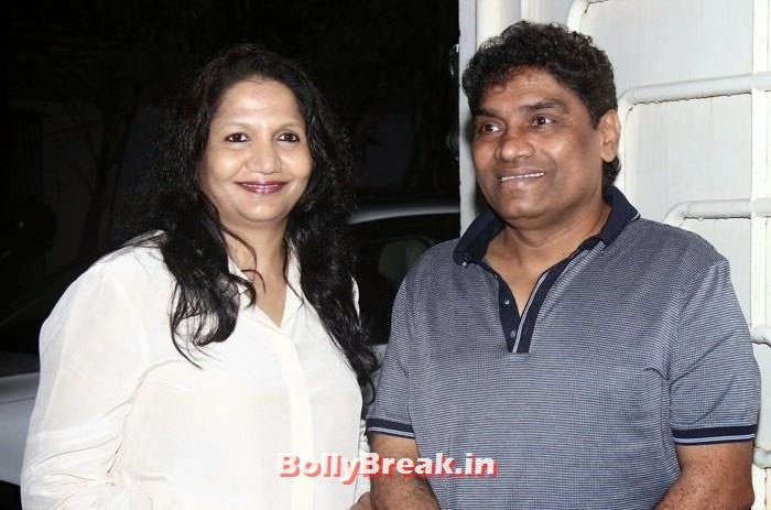 Sujatha Lever, Johny Lever, 'It's Entertainment' Movie Special Screening Pics