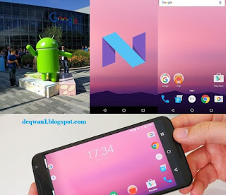 OS Android Nougat 2017