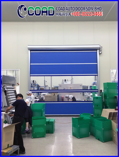 Automatic Door Malaysia, COAD Auto Door Malaysia, Doors, High Speed Door, High Speed Door Malaysia, Price Rapid Door, Roll Up Door, Rapid Door Malaysia,