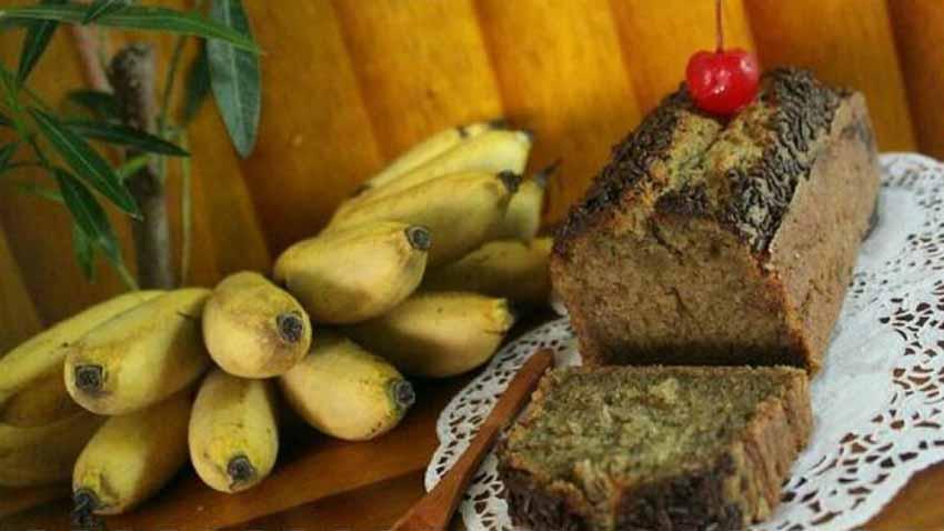 Resep Cake Pisang 5 Bahan