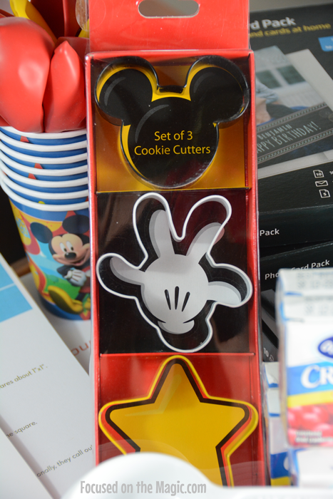 Cookie Cutters #DisneySide @Home Celebration!