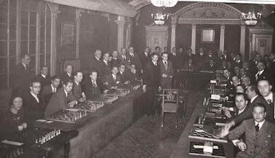 Simultáneas de Lilienthal en el Círculo Artístico en 1934