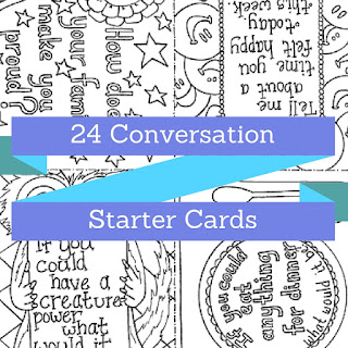 24 Conversation Starter Cards