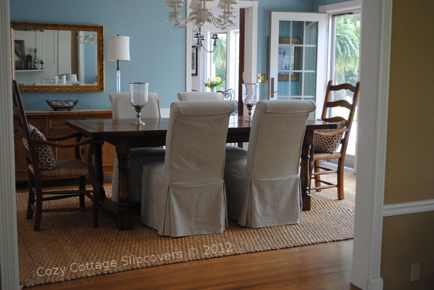 Cozy Cottage Slipcovers Parsons In Linen And Sale At Chic