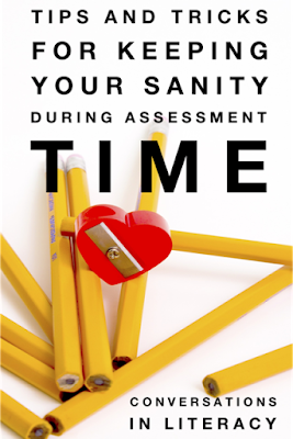 Tips and Tricks for Keeping Your Sanity During Assessment Time!