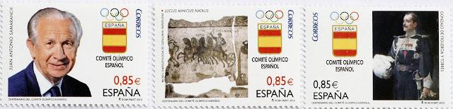 CENTENARIO DEL COMITÉ OLÍMPICO ESPAÑOL