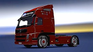 Volvo FM13 With Real Tire Mod v4.0