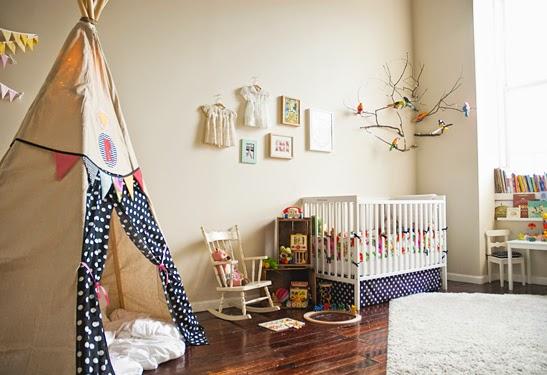 Dormitorio de bebé niña
