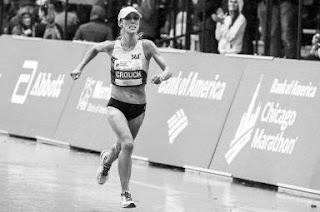 Atleta da 361° é a melhor corredora dos EUA na Chicago Marathon 2018