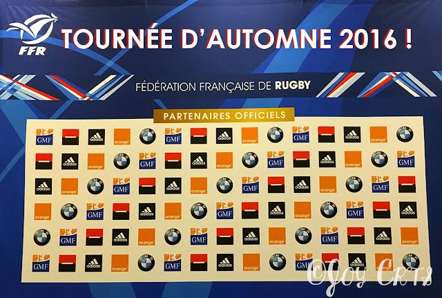 Présentation des partenaires de la Fédération Française de Rugby (FFR)