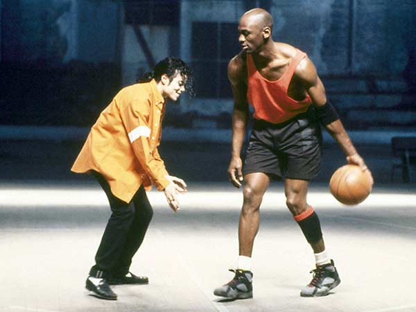 Michael Jordan y Michael Jackson