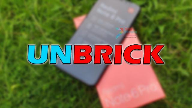 Xiaomi Redmi 6 PRO Kamu Sudah Terlanjur Hardbrick Mati Total? Coba Tutorial Test Point Berikut