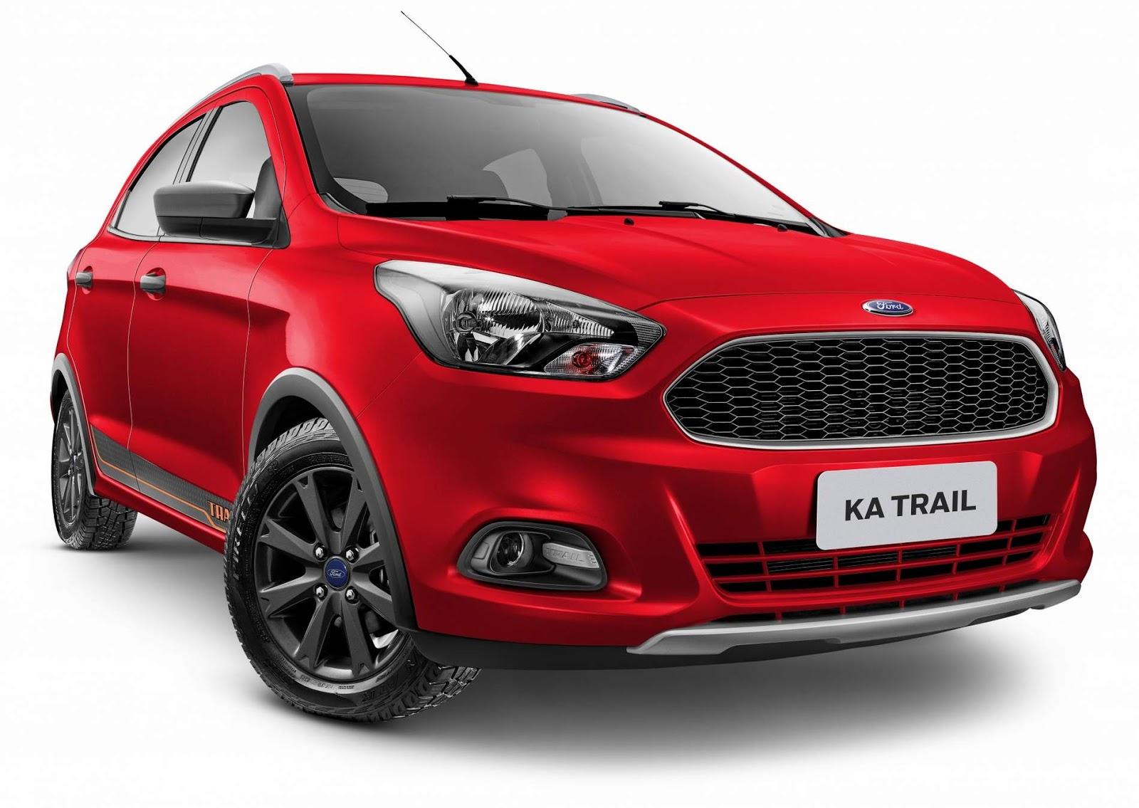 Ford KA Trail Red