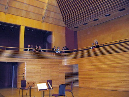 The Menuhin Hall, Yehudi Menuhin School