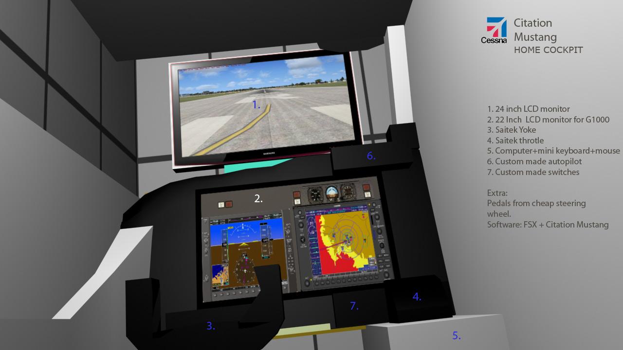 Fsx home cockpit