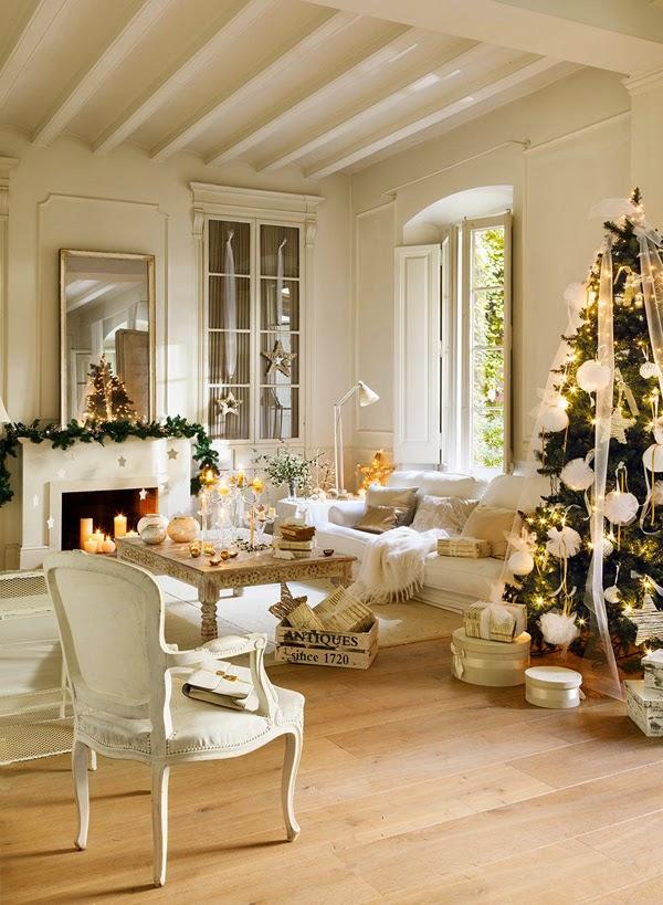 Una casa con encanto navideño