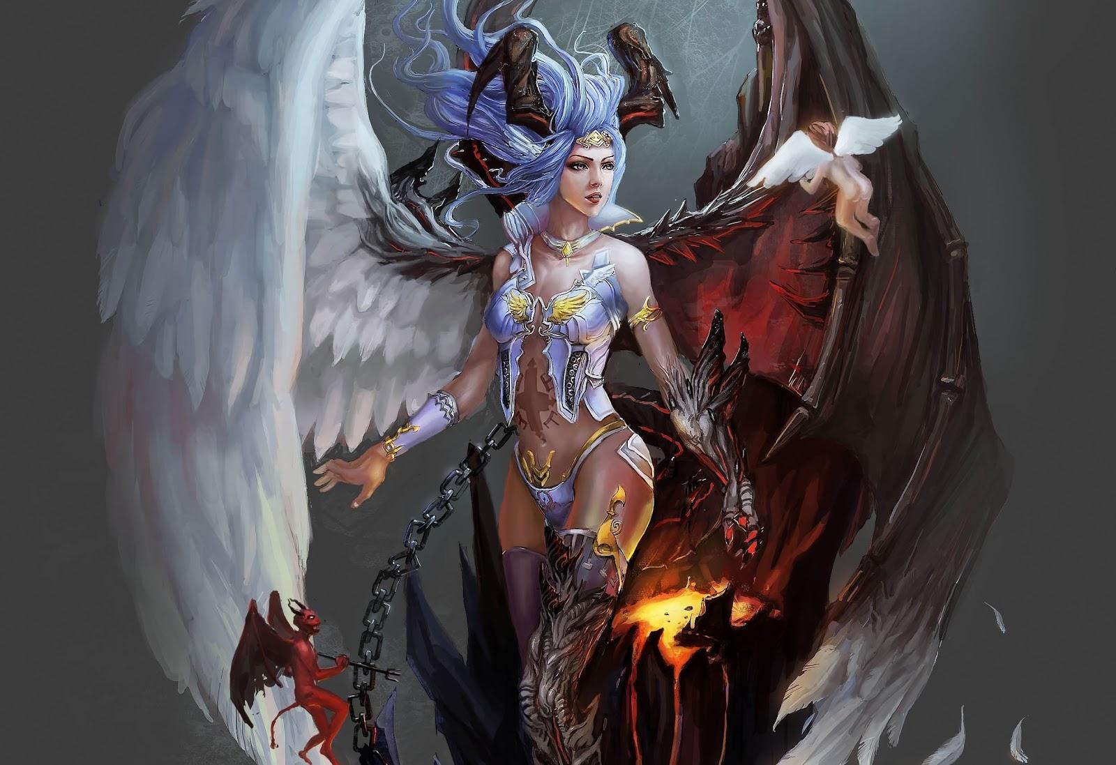 Vampire World: ANGELES VS DEMONIOS
