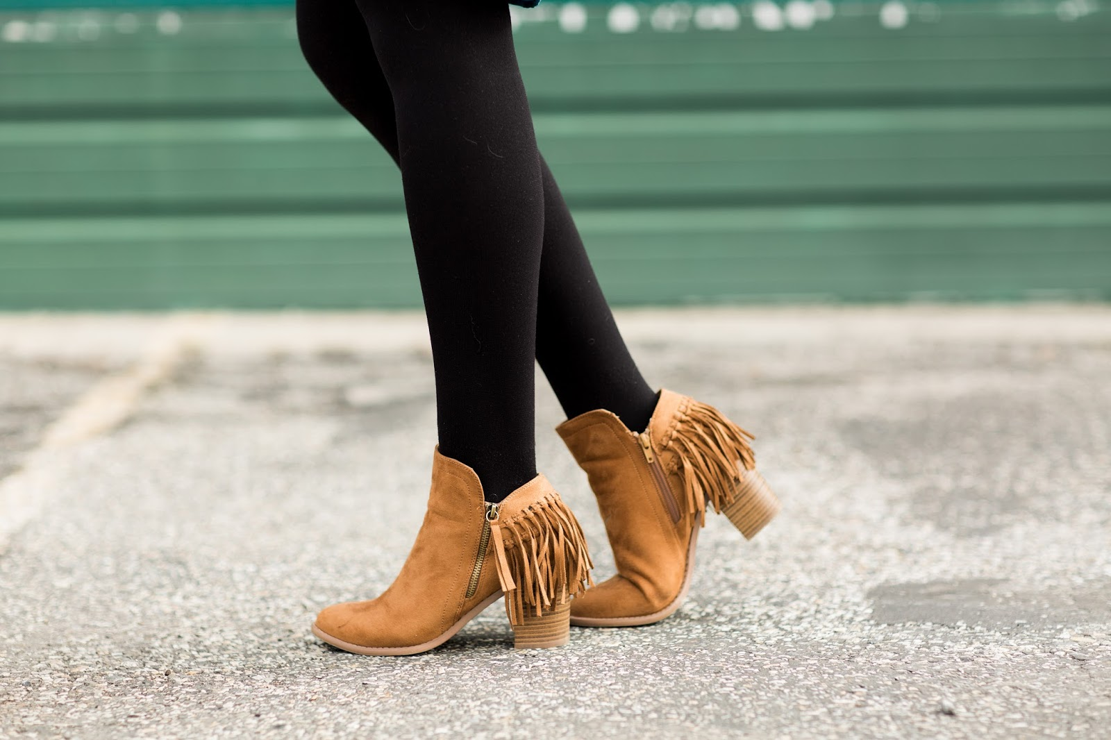Fringe Booties, Poshmark, Utah Fashion Blogger