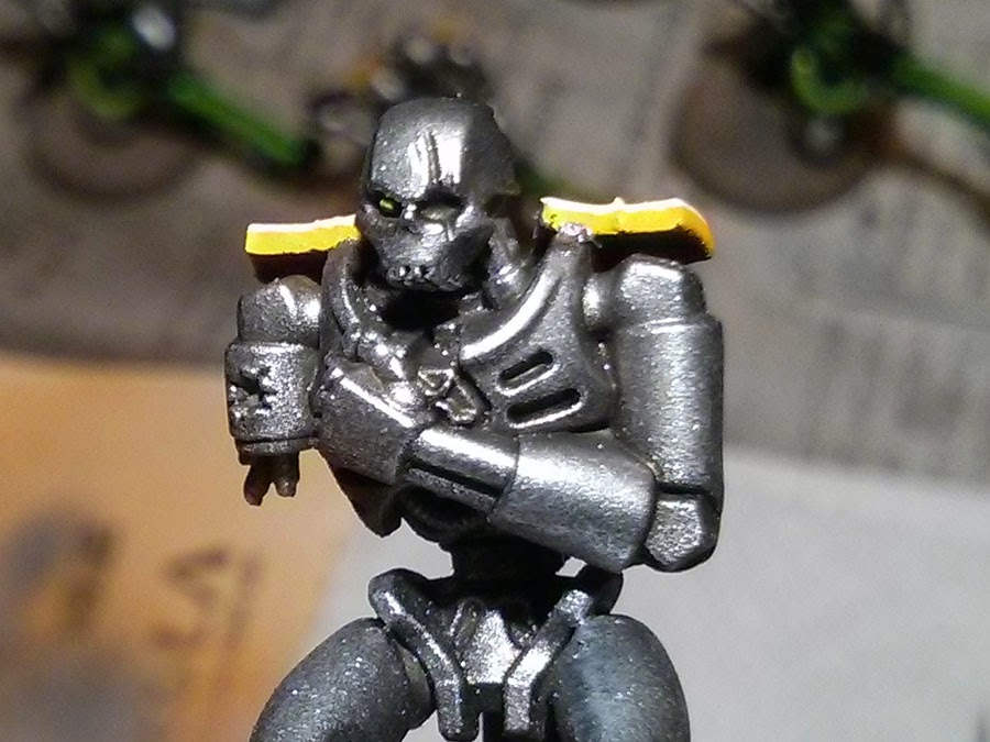 The Hammer of Wrath: WIP: Necron Army - Part 6: Broken
