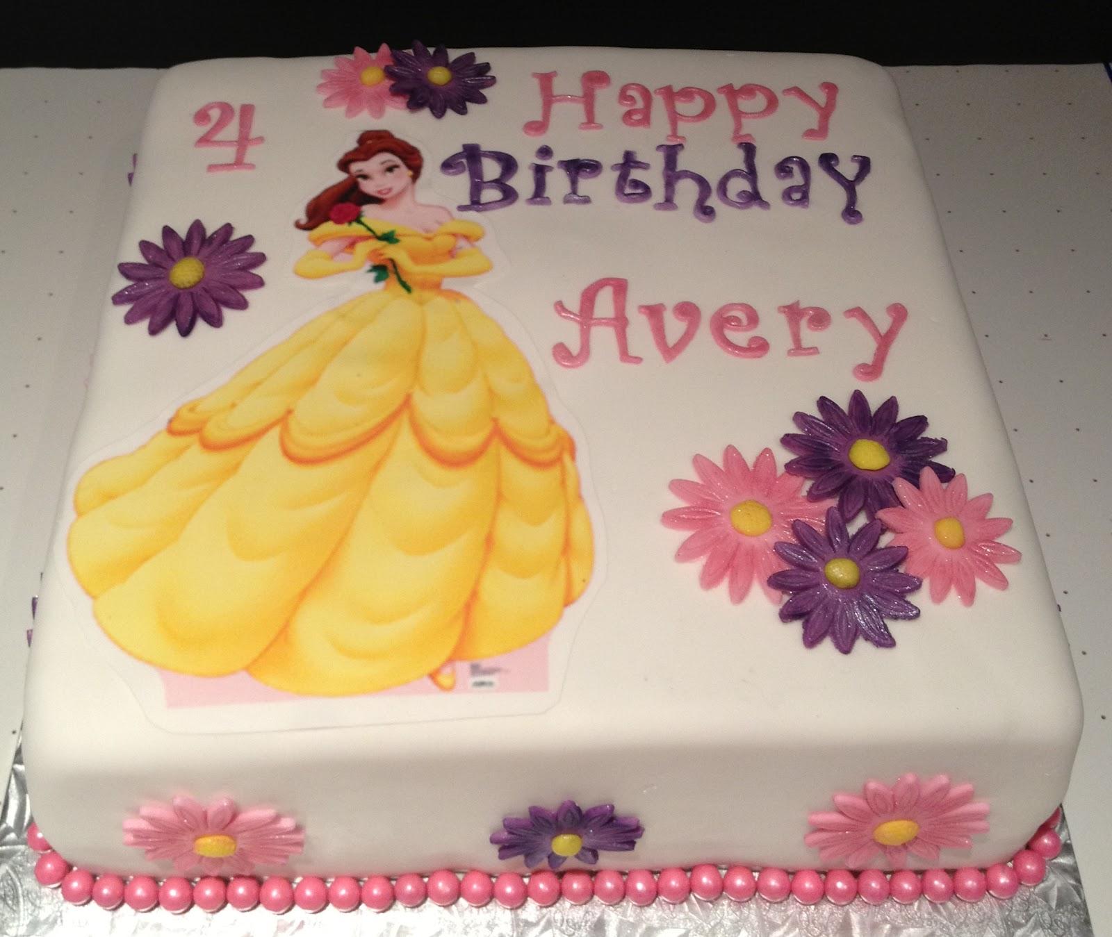 Happy Half Birthday Cake