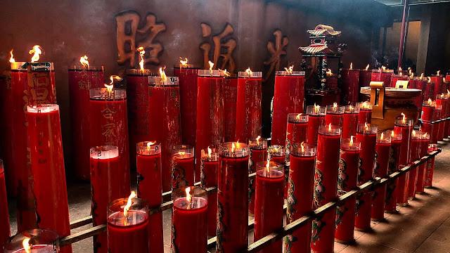 wisata di jakarta. wihara dharma bhakti