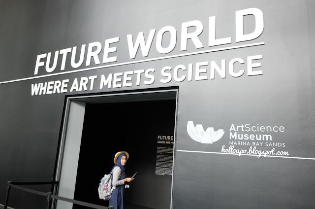 pengalaman ke artscience museum